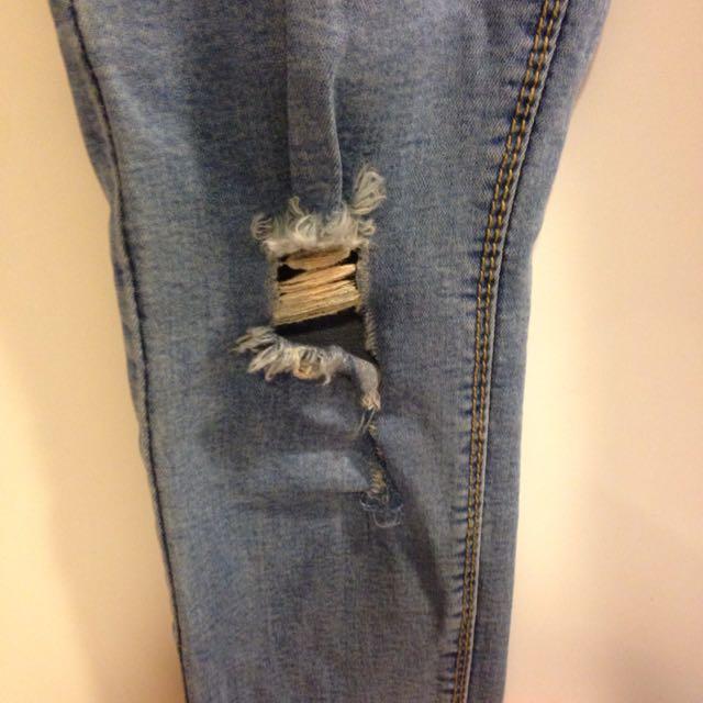 淺色牛仔褲(新)