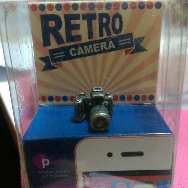 相機造型耳機塞(防塵塞),購自香港