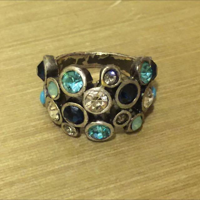 🌀☀️出清130元☀️🌀 古銅海洋系戒指(非新品)