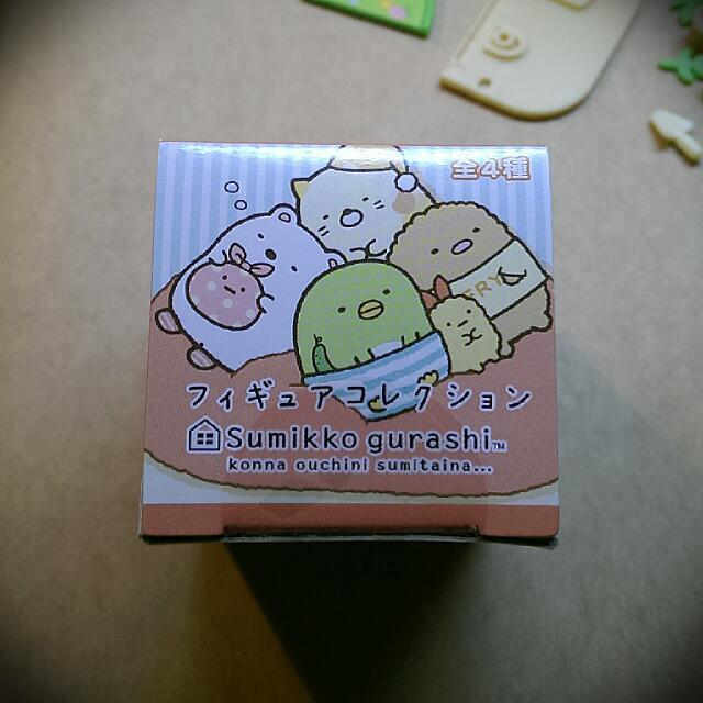 角落生物盒玩 豬排款