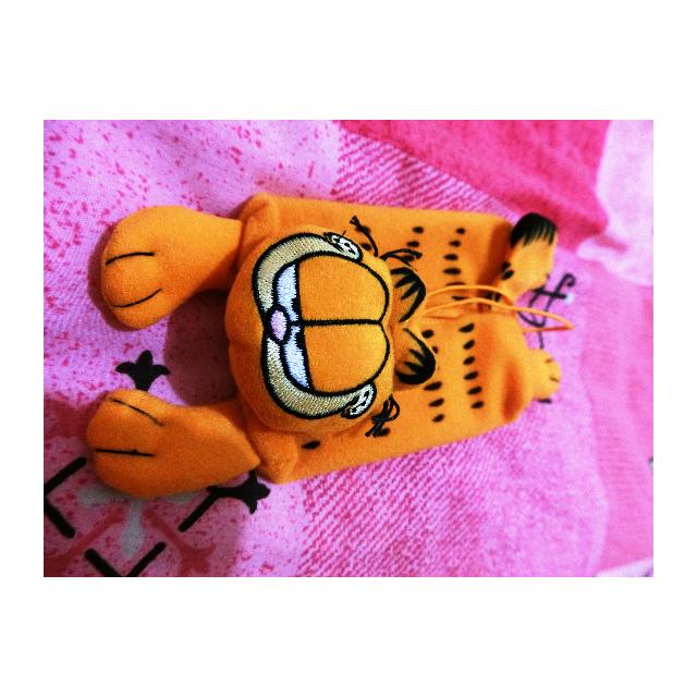 加菲貓 面紙收納 捲尺