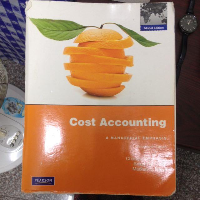 📖成本與管理會計 原文書 Cost Accounting