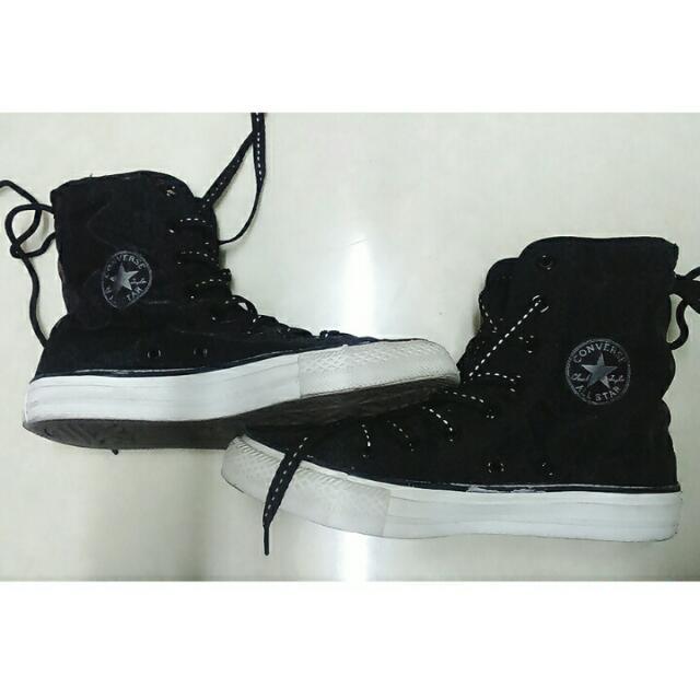 (降!!250售)All Star 酷酷黑黑-板鞋