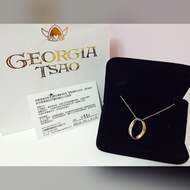 GEORGIA TSAO 純銀項鍊