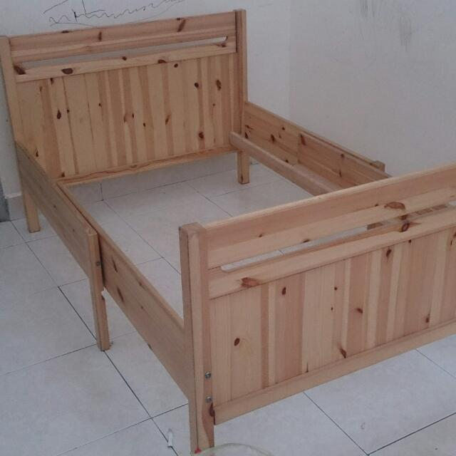 Ikea Trofast Extendable Bed Frame, Home & Furniture on Carousell