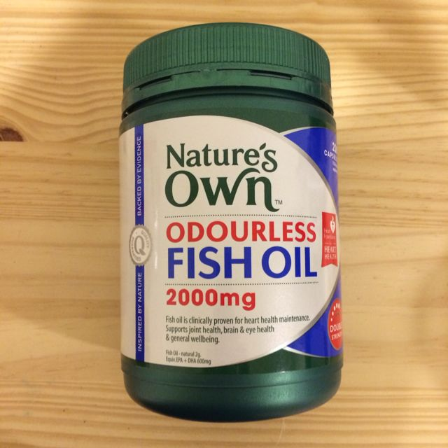 Nature's Own Odourless Fish Oil (全新)