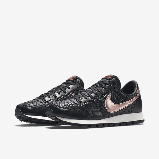6c46b10a2225 norway nike air pegasus 83 premium quilted women black sail metallic rose  gold womens fashion on