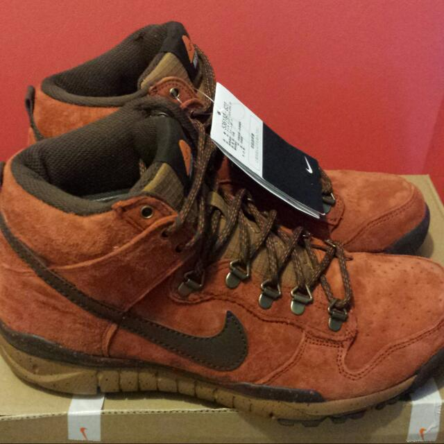 the latest 54a3f 8937c AUTHENTIC POLER X NIKE SB DUNK HIGH OMS (RARE)
