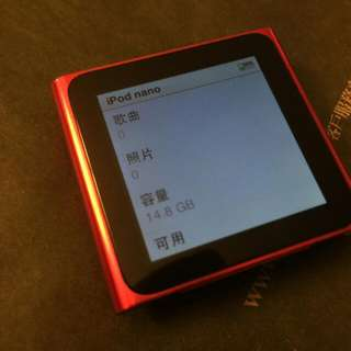 Apple iPod nano 16G (PRODUCT)紅