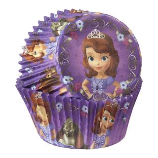 (Reserved) BN Wilton 415-2822 50 Count Sofia The First Baking Cups