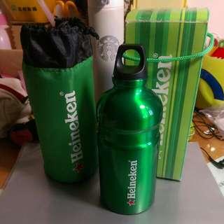限量款Heineken海尼根酷綠運動水壺(全新)