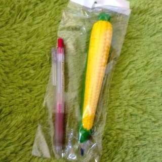 💫日本。原子筆 玉米造型筆 /辦公室小物/療癒係商品