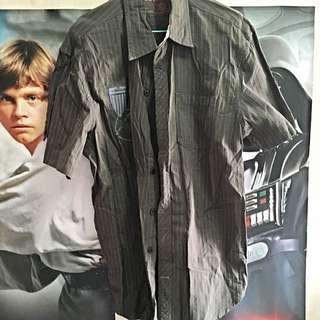 Brown Size L Authentic Levi's Shirt