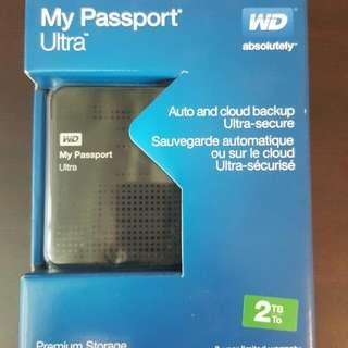 WD My Passbook Ultra 2TB