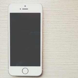 (待面交)Iphone5s金色32G 8成新