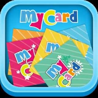 Mycard 遊戲點數卡/50/100/150點/9折優惠/紙膠帶交換