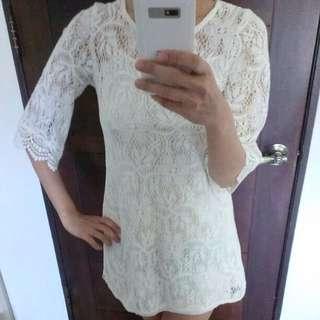 H&m 蕾絲洋裝 香港帶回