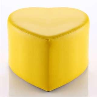 ★免運費-全新★黃色心型造型椅凳