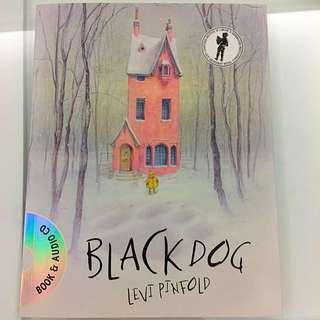 🚚 兒童繪本:The Black Dog 大黑狗 By Levi Pinfold