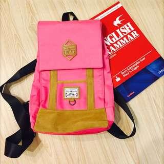 Rite桃粉色後背包