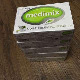 (保留)Medimix 印度皂淺綠*5