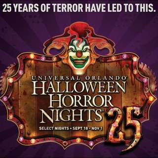 USS Halloween Horror Nights ticket