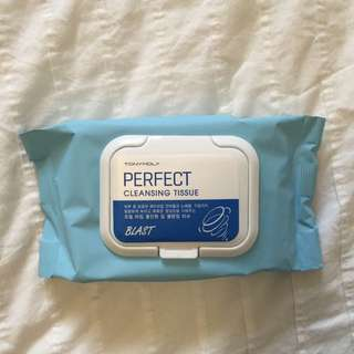 Tony moly Cleansing wipes