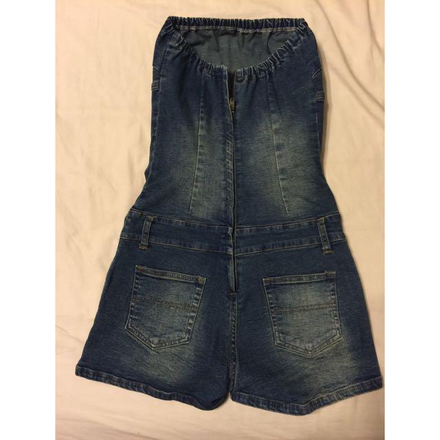 二手👉🏻平口連身短褲