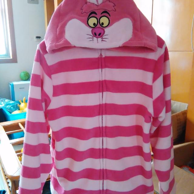 日本東京迪士尼 愛麗絲夢遊仙境 柴郡貓/妙妙貓外套