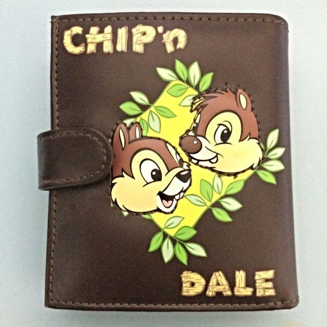 🐹👛皮夾 短夾 奇奇蒂蒂 正版迪士尼