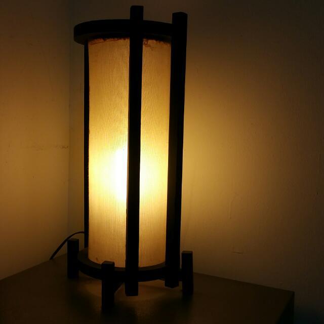 Balinese Zen Cosy Lamp, Unique Decorative Artistic Design, Bought In ...