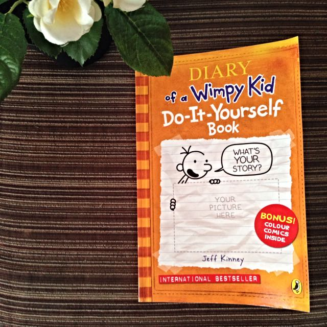 Diary of a wimpy kid do it yourself book books stationery on photo photo photo solutioingenieria Choice Image