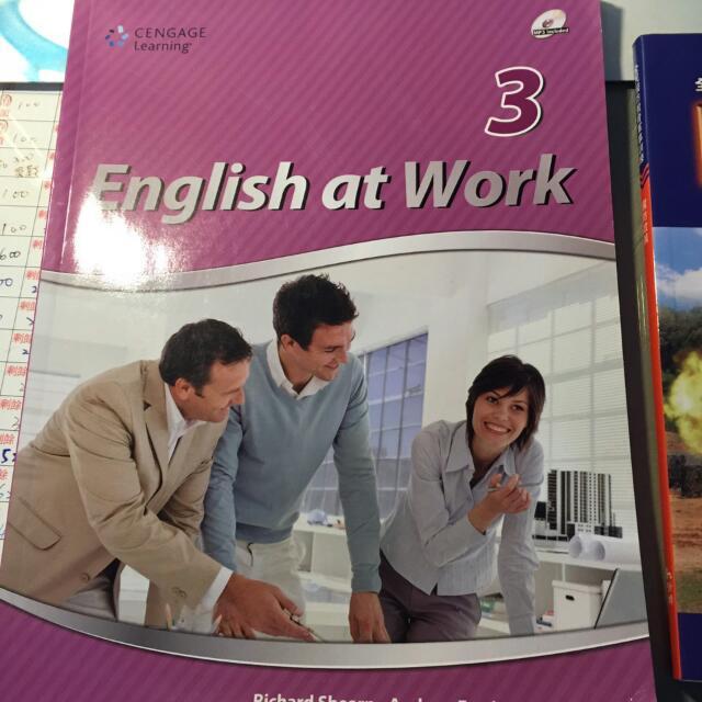 英文課本 English at work3
