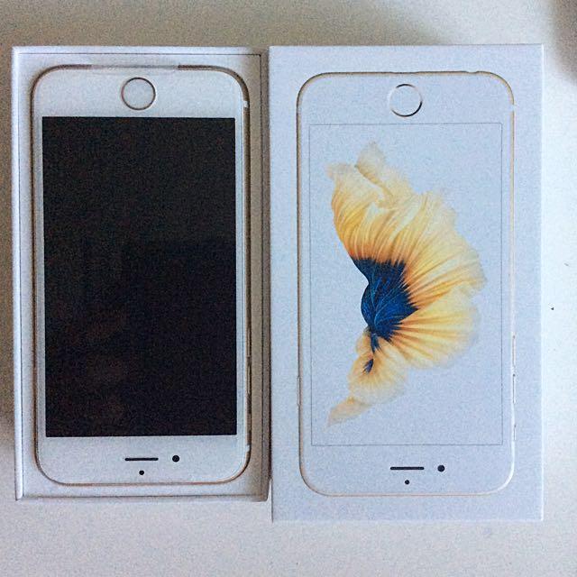 iPhone 6s 金色 16g 台北面交 遠傳公司貨
