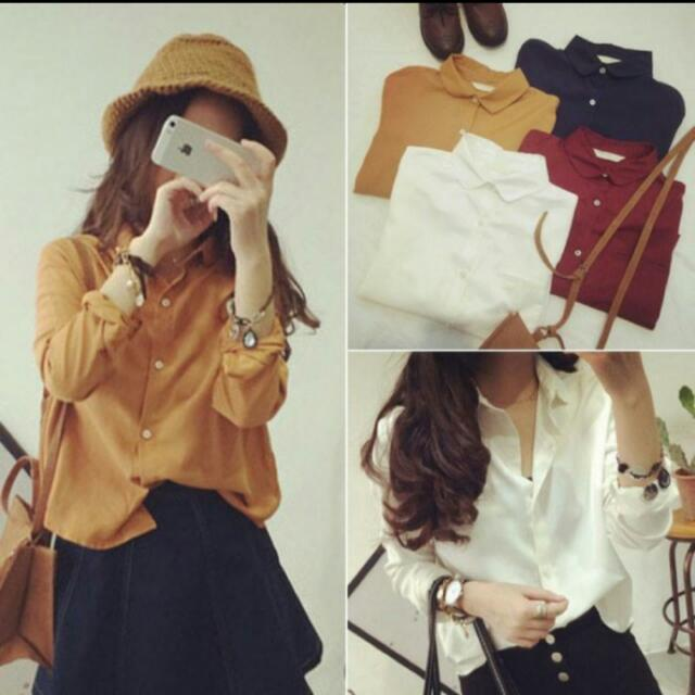 Looking For White Colar Blouse