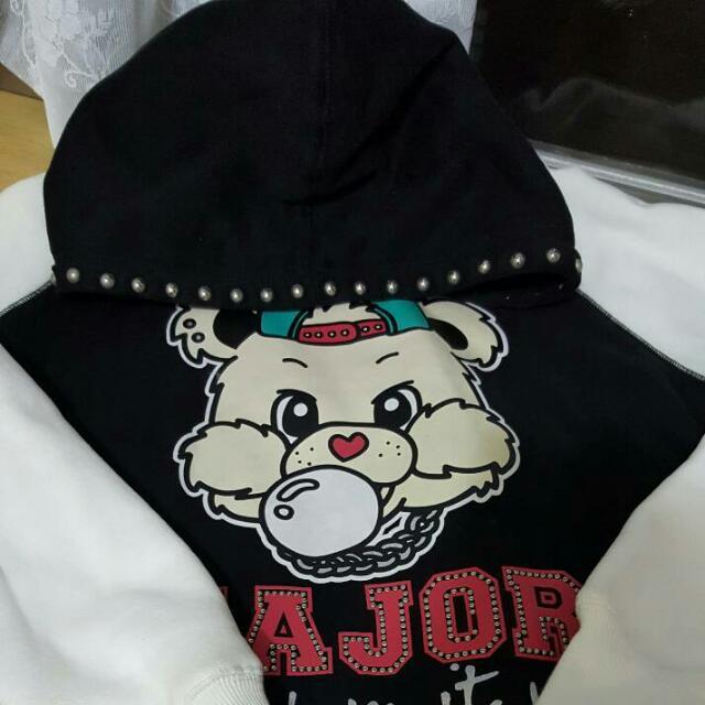 MJR Major Made UBB長版帽T
