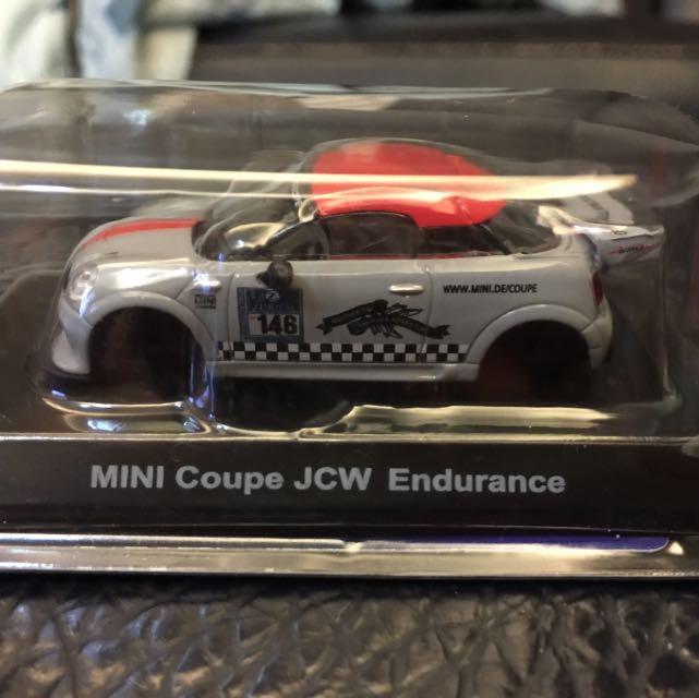 《交換》Mini 組裝模型玩具車 7-11 咖啡換購