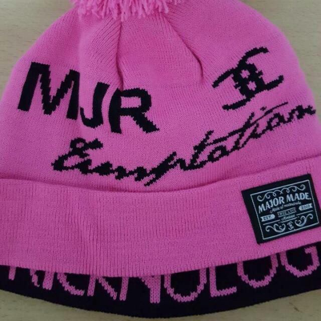 MJR Major Made雙層毛帽