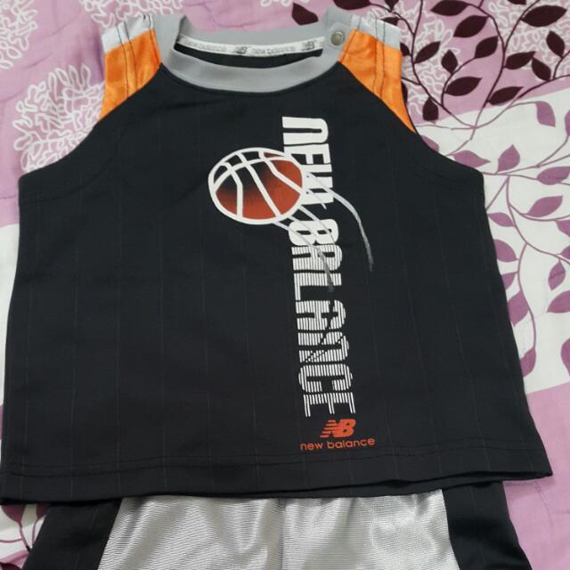 NB籃球套裝(己剪標寶貝覺得癢)