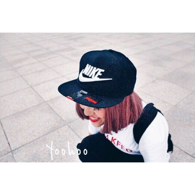 NIKE TRUE FUTURA SNAPBACK 黑白配色 棒球帽