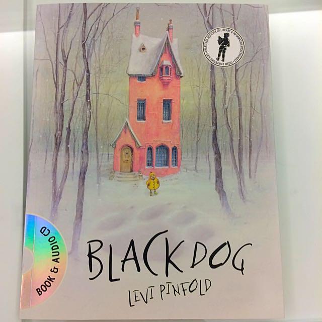 兒童繪本:The Black Dog 大黑狗 By Levi Pinfold