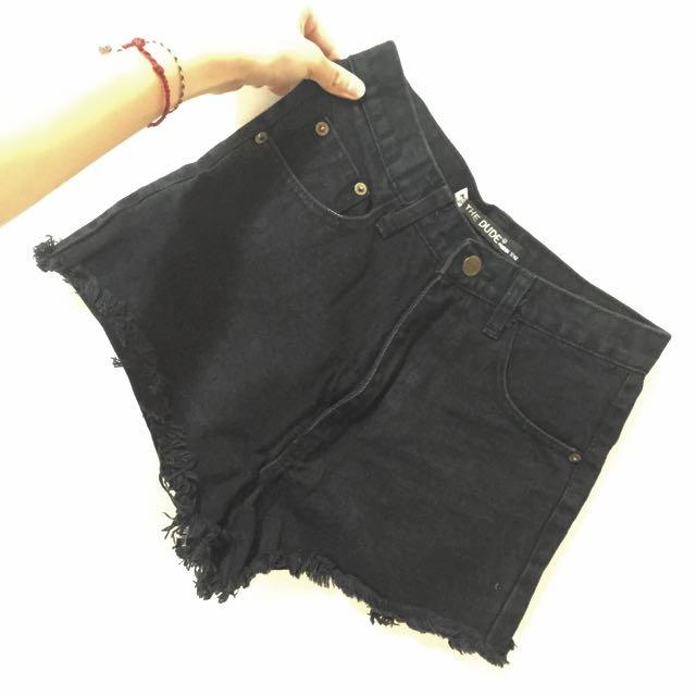 THE DUDE 二手牛仔短褲