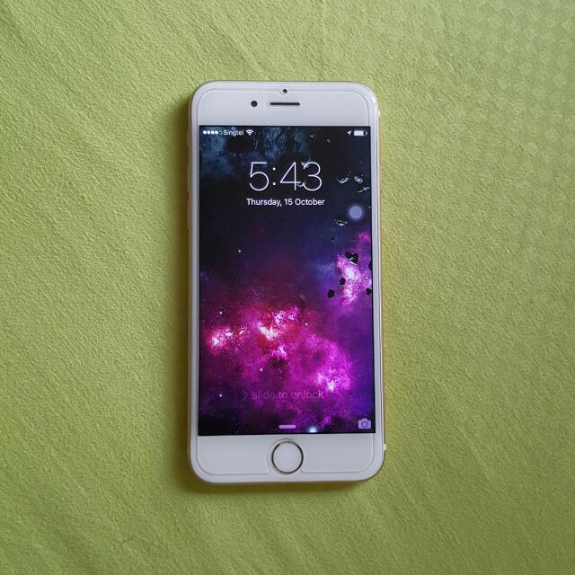 Used iphone 6 Gold 16g (Reserved)