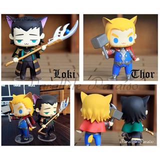 [BO] Loki & Thor Miniature Figurine