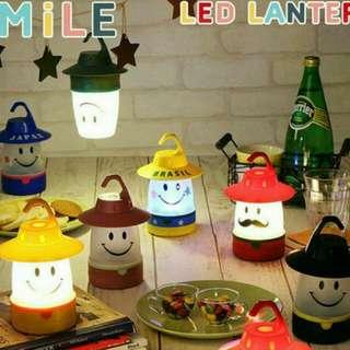 日本 SMILE LED LANTERN 微笑露營小夜燈