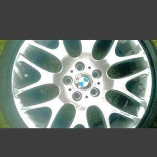 BMW Rims And Tires Barely Used