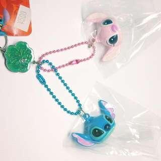 日本帶回 史迪奇 鈴鐺吊飾