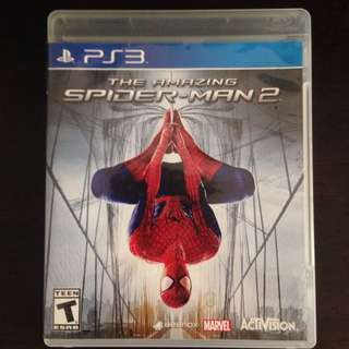 PS3 The Amazing Spiderman 2