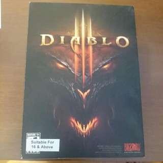 Diablo III PC DVD With Box
