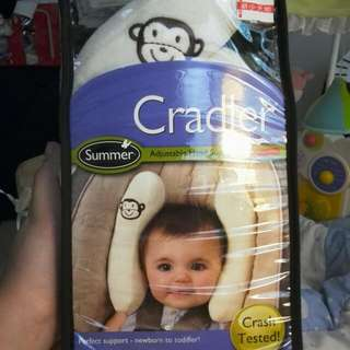 Summer Infant可調式頭部保護枕 香蕉枕(米色)